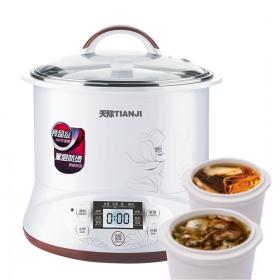 TIANJI Smart Electric Stew Pot Ceramic Pot Slow Cooker DGD22-22EG