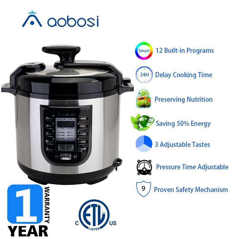Aobosi电压力锅YBW60-100P1产品卖点