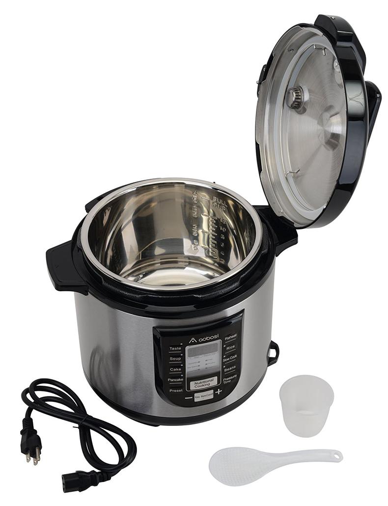Aobosi电压力锅YBW60-100P1产品配置清单